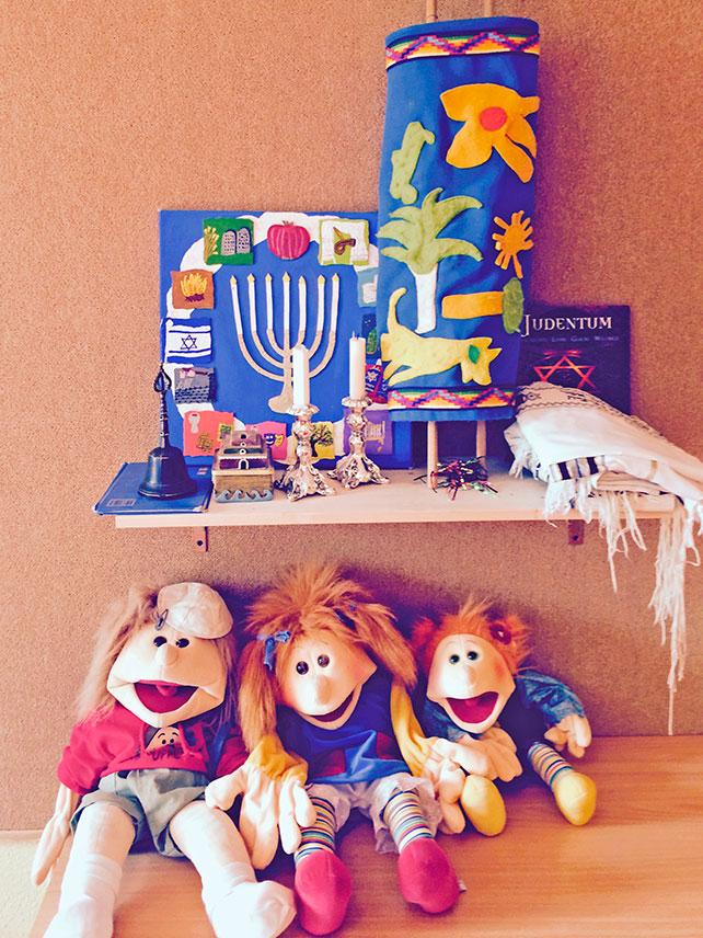 Kindgerechte Vermittlung des Liberalen Judentums